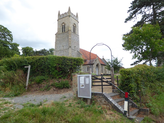 Steps up to St Peter, Mundham