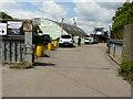 TQ6674 : The entrance to Thames Shiprepair Service Ltd by John Baker