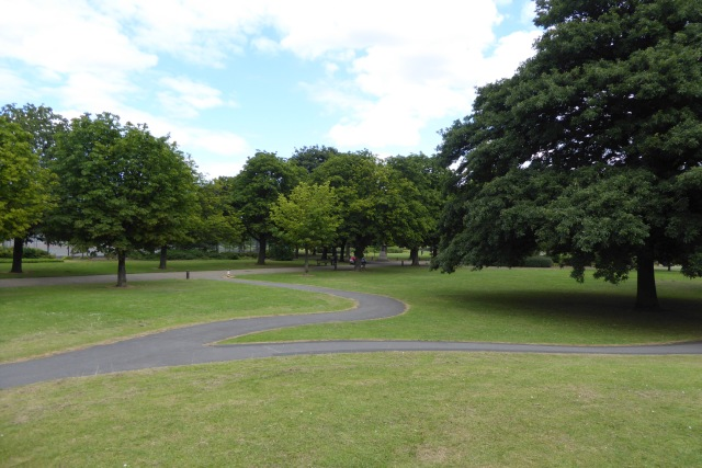 Paths in Albert Park