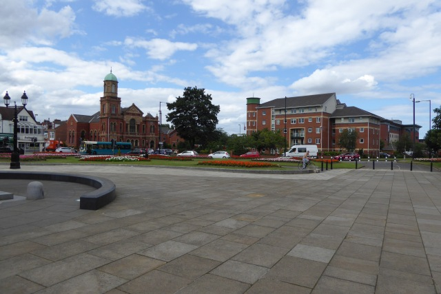 Square near Albert Park