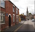 SK9136 : Manthorpe Road, Grantham, Lincs. by David Hallam-Jones