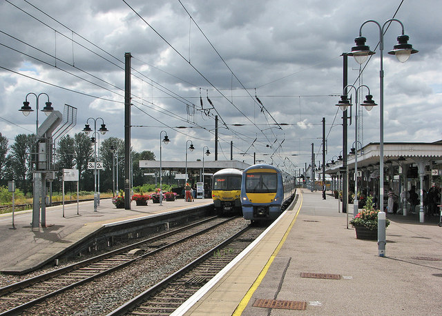 Two trains at Ely
