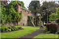 SO5174 : Ludlow Town Walls by Ian Capper