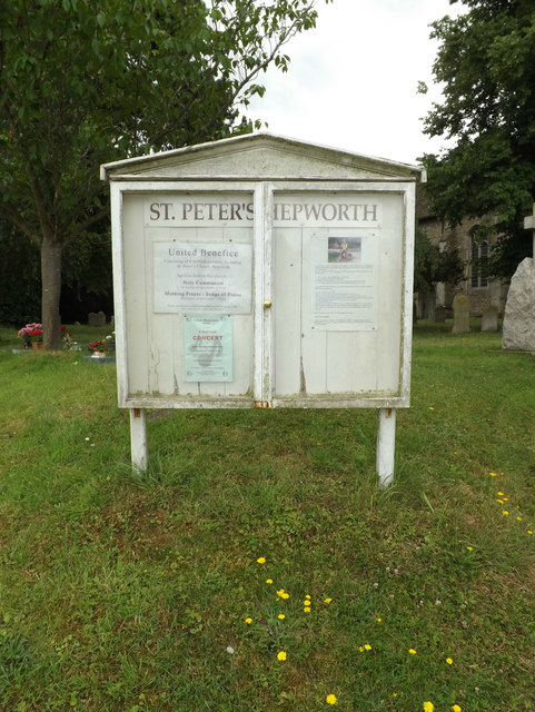 St.Peter's Church Notice Board