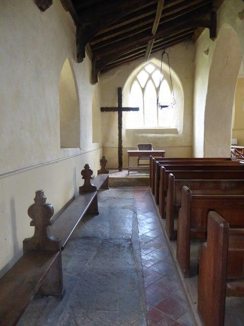 Inside St Gregory, Heckingham (II)