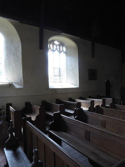 Inside St Gregory, Heckingham (IV)