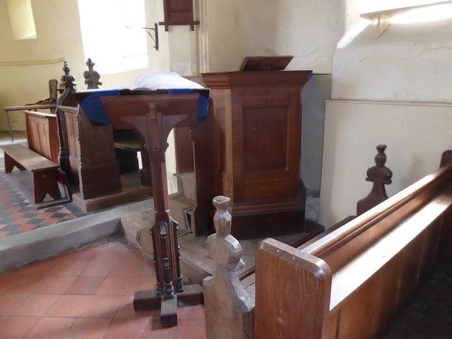 Inside St Gregory, Heckingham (V)