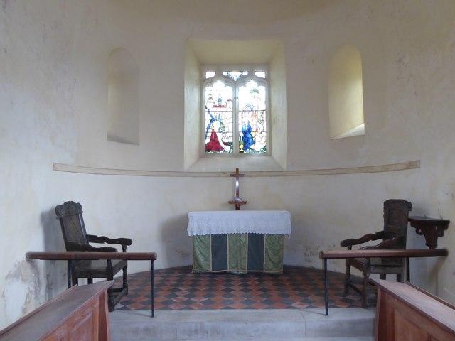 Inside St Gregory, Heckingham (VI)
