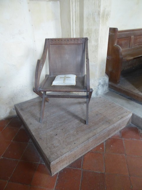 St Gregory, Heckingham: The Bishop's Chair