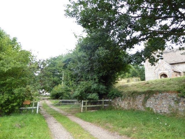 Path to Little Church Farm