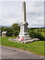 NX6579 : Balmaclellan War Memorial by David Dixon