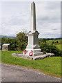 NX6579 : Balmaclellan War Memorial by David Dixon