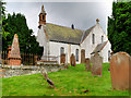 NX6579 : The Parish Church at Balmaclellan by David Dixon