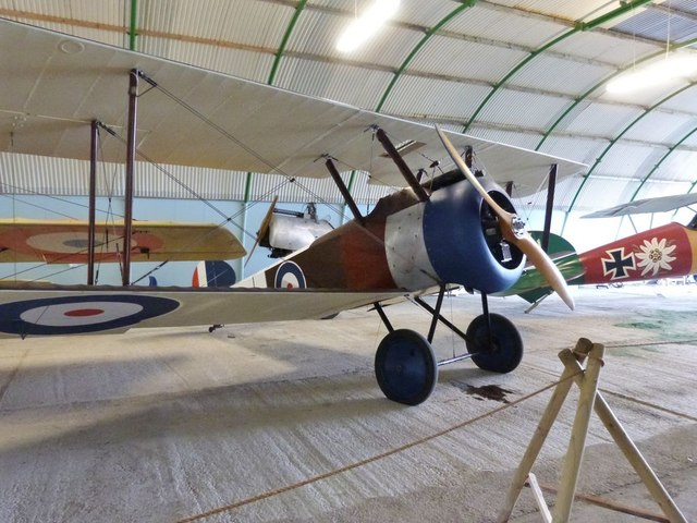 Exhibit at Stow Maries WW1 Air Museum, Essex