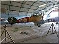 TL8100 : WW1 replica Biplane at Stow Maries Air Museum by Derek Voller