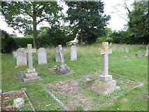 TM2692 : St. Margaret, Topcroft: churchyard (c) by Basher Eyre