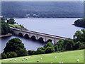SK1986 : Ashopton Viaduct by Stephen Burton