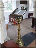 TM2692 : St. Margaret, Topcroft: lectern by Basher Eyre