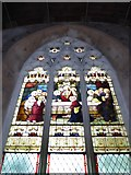 TM2692 : St. Margaret, Topcroft: stained glass window by Basher Eyre