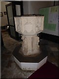TM2692 : St. Margaret, Topcroft: font (I) by Basher Eyre