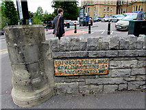 SZ0891 : Old-style sign, Braidley Road, Bournemouth by Jaggery