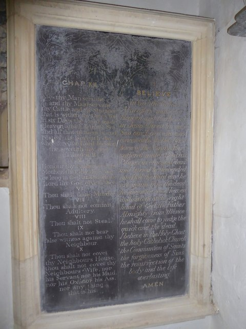 Inside All Saints, Woodton (10)