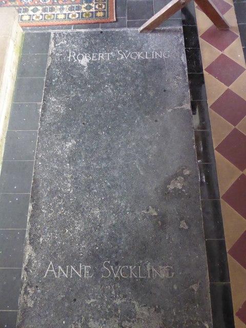 All Saints, Woodton: memorial (M)