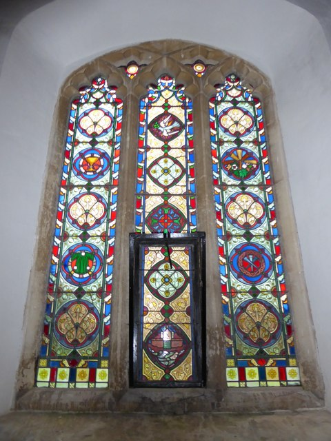 All Saints, Woodton: stained glass window (c)