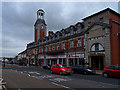 NZ2533 : Town Hall, Spennymoor by wfmillar