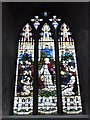 TG2308 : Norwich Cathedral: stained glass window (27) by Basher Eyre