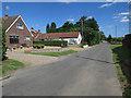 TG3112 : Sandhole Lane, Little Plumstead by Hugh Venables