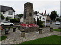ST1571 : Grade II listed Dinas Powys War Memorial by Jaggery