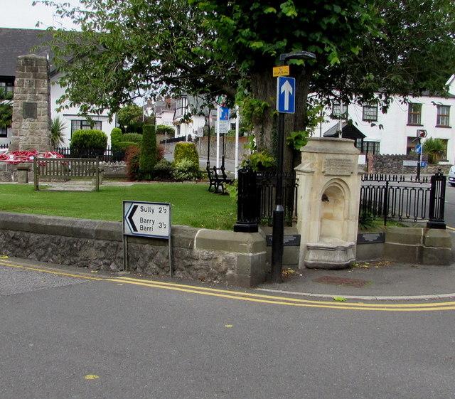King Edward VII Memorial Fountain, Dinas Powys