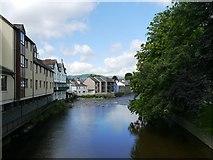 NY2623 : The River Greta, Keswick by James T M Towill