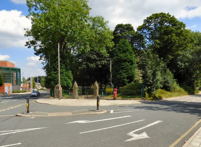 Entrance to Whitefield Park