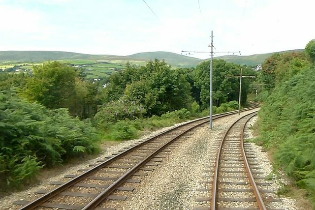 Manx Electric Railway, the climb out of Laxey