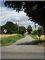 TM0175 : Town House Lane, Wattisfield by Geographer