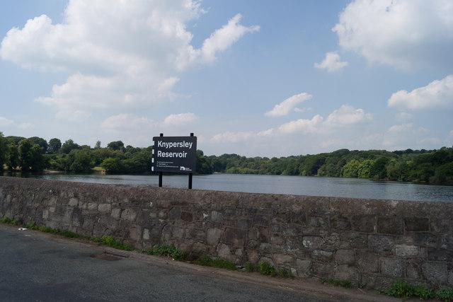 Knypersley Dam Wall