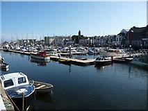 SC2484 : The marina, Peel Harbour by Christine Johnstone