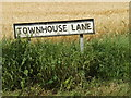 TM0175 : Townhouse Lane sign by Geographer
