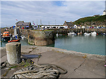 NW9954 : Portpatrick Harbour by David Dixon