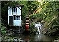 SC4178 : Little Isabella waterwheel, Groudle Glen by Alan Murray-Rust