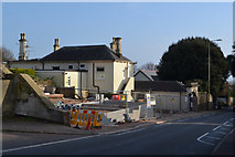 SX9473 : New building going up on the site of old, Dawlish Road, Teignmouth by Robin Stott