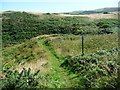SC2685 : Raad ny Foillan signpost, near Cass Strooan by Christine Johnstone
