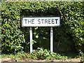 TM0074 : The Street sign by Adrian Cable