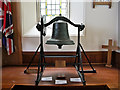 NX0054 : Bronze Bell inside Portpatrick Church by David Dixon
