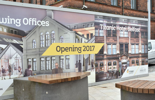 Former Harland & Wolff offices, Belfast - August 2016(3)