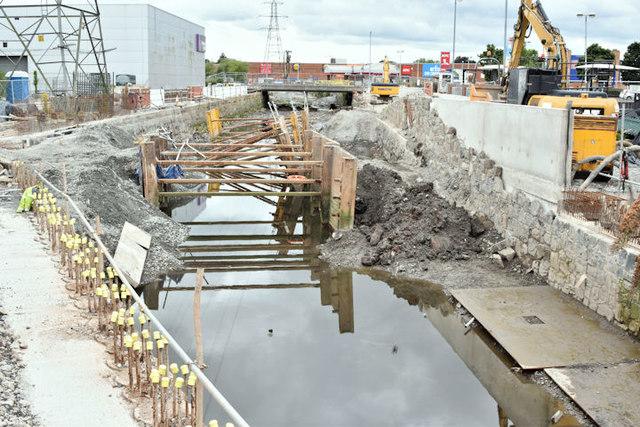 Connswater works, Belfast - August 2016(3)