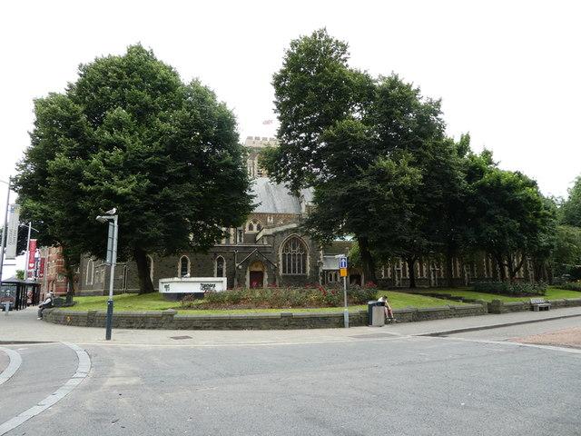 St Mary's Church, Swansea