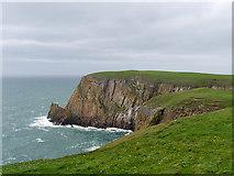 NX1430 : Mull of Galloway,  Gallie Craig by David Dixon